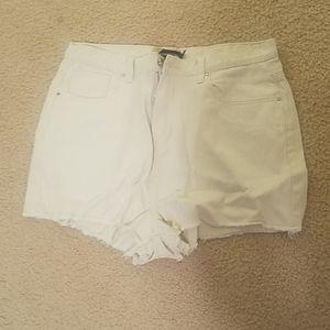 PrettyLittleThing Shorts - High Wasted Denim Shorts